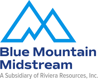 Blue Mountain Midstream logo